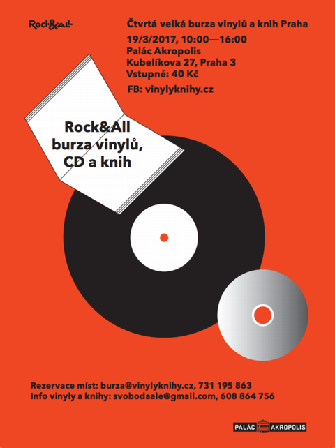 AKROPOLIS: 4. Rock and All Burza vinilů, CD a knih